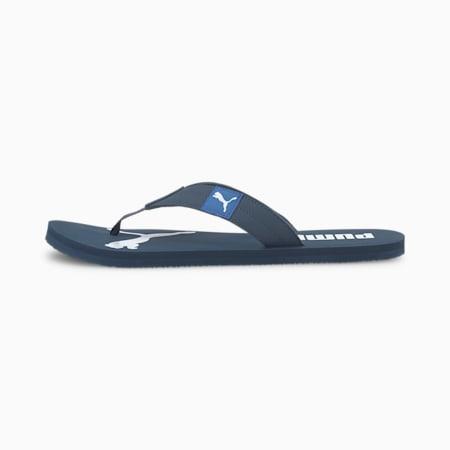 Cosy Flip Sandals, Dark Denim-Palace Blue, small