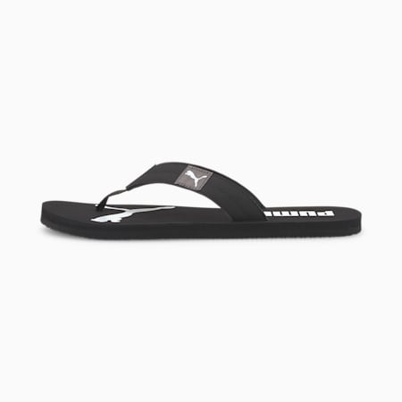 Cosy Flip Sandals, Puma Black-CASTLEROCK, small