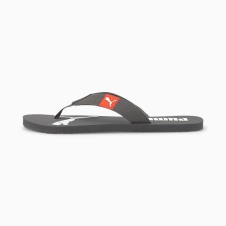 Cosy Flip Sandals, CASTLEROCK-Hot Coral, small-SEA