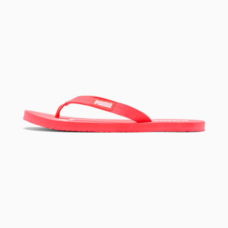 PUMA Cozy Flip Women's Sandals, Pink Alert-Puma White, small