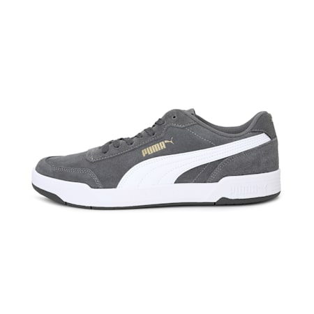 Caracal Suede SoftFoam+ Shoes, CAST.ROCK-C.ROCK-P.Team Gold, small-IND