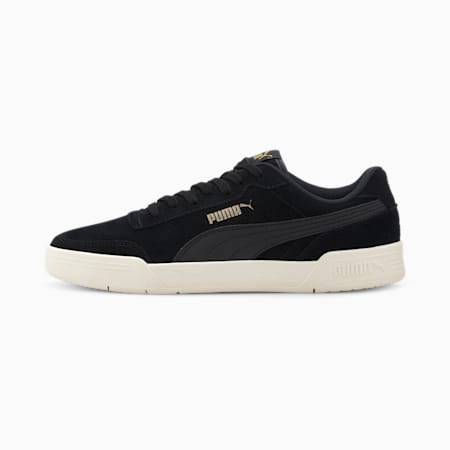 Caracal Suede Men's Sneakers, Puma Black-Puma Black, small