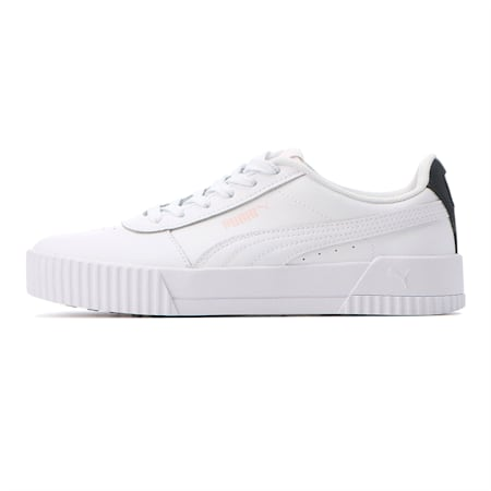 Carina Damen Sneaker, Puma White-Puma White-Rosewater, small