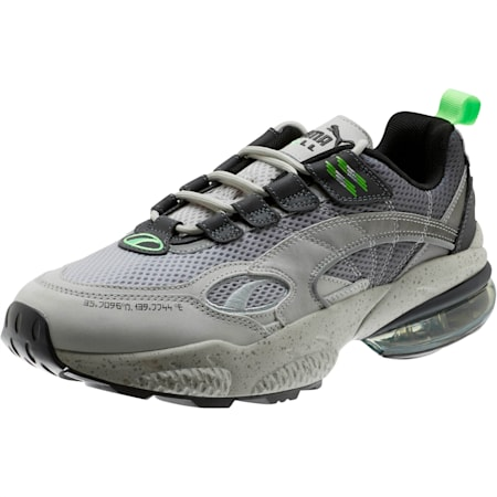 CELL Venom Mita Trainers, Gray Violet-Puma Silver, small-SEA