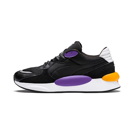 RS 9.8 Gravity Shoes, Puma Black-Purple Glimmer, small-IND