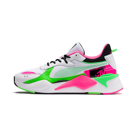 PUMA x MTV RS-X Tracks Bold Trainers, Puma White-Puma Black-802 C, small-SEA