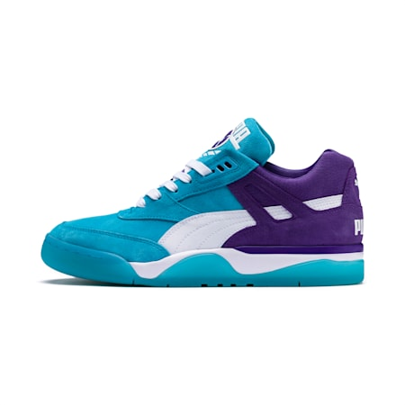 Palace Guard Queen City Trainers, Blue Atoll-Prism Violet, small