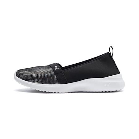 Adelina Sparkle Women's Shoes, Puma Black-Puma Silver, small-IND