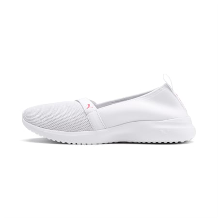 Adelina Sparkle Women's Shoes, Puma White-Pink Alert, small-IND