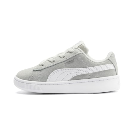 PUMA Vikky v2 Suede AC Sneakers INF, Gray Violet-White-Silver, small