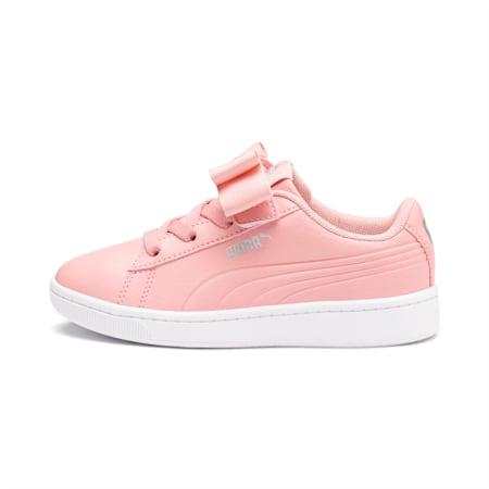 Vikky v2 Ribbon AC Kids' Shoes, Bridal Rose-Silver-White, small-IND