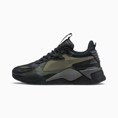 Zapatos deportivos RS-X Winterized para hombre, Puma Black-Burnt Olive, pequeño
