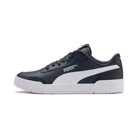 Caracal Youth Shoes, Peacoat-P. White-Puma Silver, small-IND