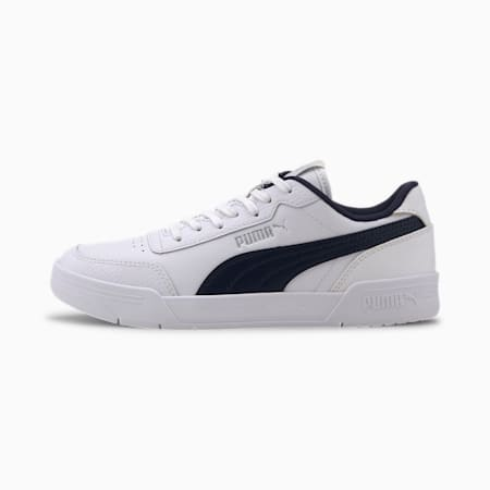 Caracal Kids Shoes, P.White-Peacoat-Puma Silver, small-IND