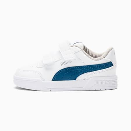 Caracal V Toddler Shoes, Puma White-Digi-blue, small