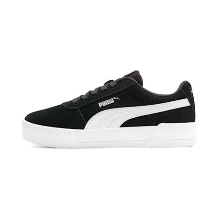 Zapatillas para jóvenes Carina, Puma Black-Puma White, small