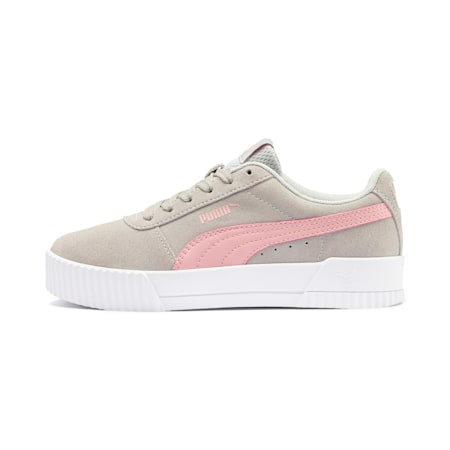 Carina Youth Sneaker, Gray Violet-Bridal Rose, small