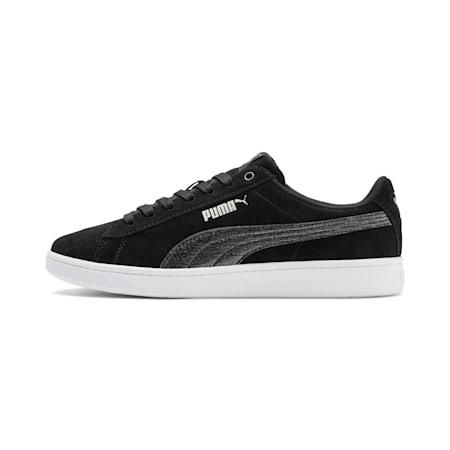 PUMA Vikky v2 Shift Women's Sneakers, Black-Silver-N Rose-White, small