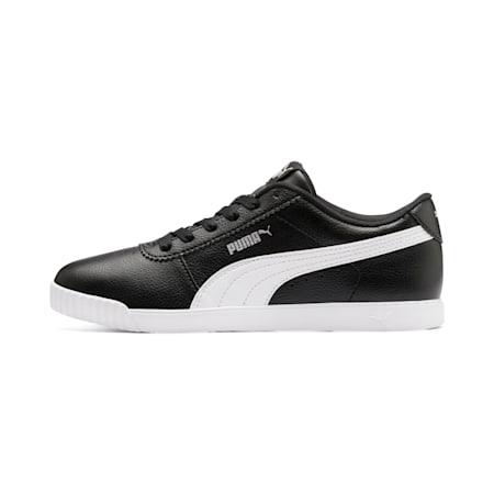 Zapatos deportivos Carina Slim para mujer, Puma Black-Puma White, pequeño