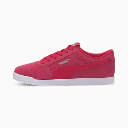 Carina Slim Suede Women's Sneakers, BRIGHT ROSE-BRIGHT ROSE, small