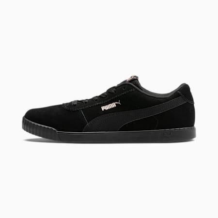 Carina Slim Damen Sneaker, Puma Black-Rose Gold, small