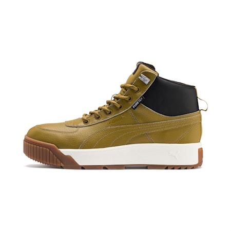 Zapatos deportivos Tarrenz SB PURETEX Midpara hombre, Moss Green-Puma Black, pequeño