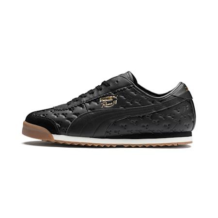 Roma '68 Gum Sneakers, Puma Black-Puma Black, small