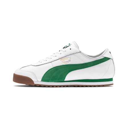 Roma '68 OG Shoes, Puma White-Amazon Green, small-IND