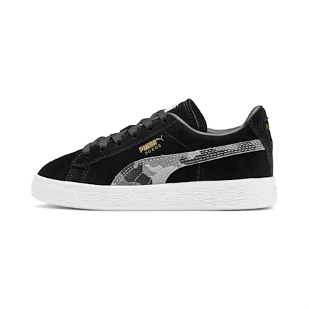 Suede Classic Ambush Little Kids' Shoes, Puma Black-Castlerock-Puma W, small