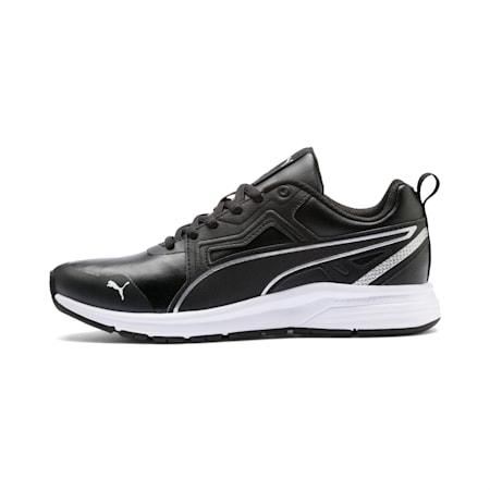 Pure Jogger SL Sneakers JR, Puma Black-Puma Silver-White, small