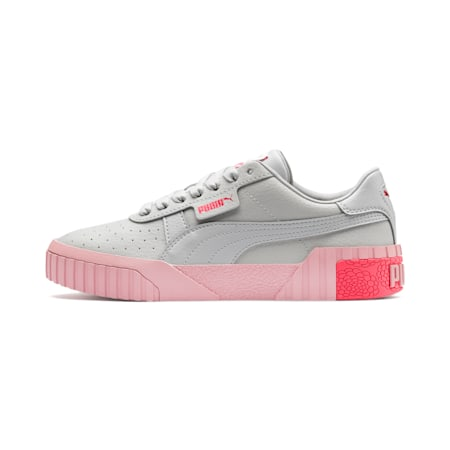 Cali Youth Sneaker, Gray Violet-Calypso Coral, small
