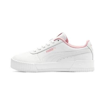 Carina Sneakers JR, Puma White-Puma White, small