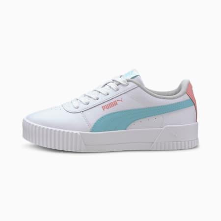 Carina L sportschoenen voor oudere kinderen, Puma White-Gulf Stream, small