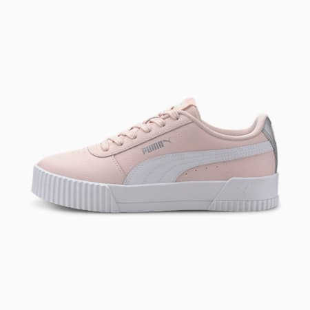 Carina L Youth Trainers, Rosewater-Puma White, small