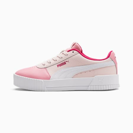 Carina L sportschoenen voor oudere kinderen, Rosewater-Peony-Puma White, small