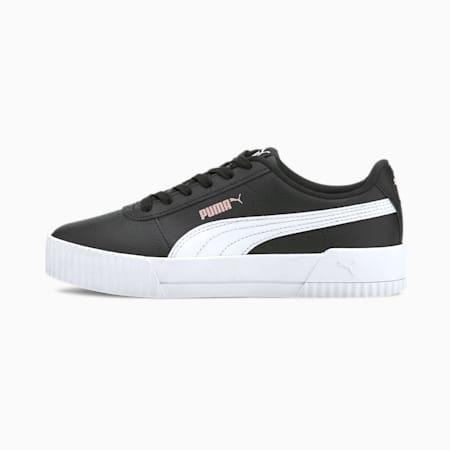 Zapatillas para jóvenes Carina L, Puma Black-Puma White, small
