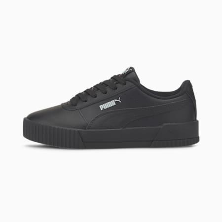 Zapatillas para jóvenes Carina L, Puma Black-Puma Black, small