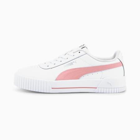 Zapatos deportivos Carina JR, Puma White-Peony, pequeño