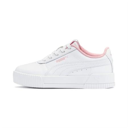 Carina Little Kids' Shoes, Puma White-Puma White, small
