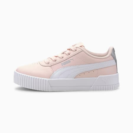Basket Carina L Kids pour fille, Rosewater-Puma White, small