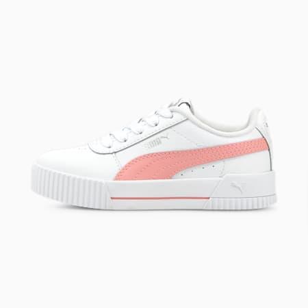 Zapatos Carina para niños pequeños, Puma White-Peony, pequeño