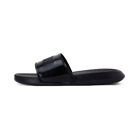Popcat Patent Women's Sandals, Puma Black-Puma Black, small-IND
