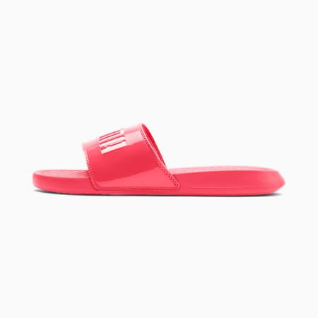 Popcat Patent Women's Sandals, Calypso -l Parchment, small