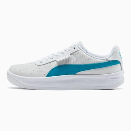 California Women's Sneakers, P Wht-Caribbean Sea-P Wht, small