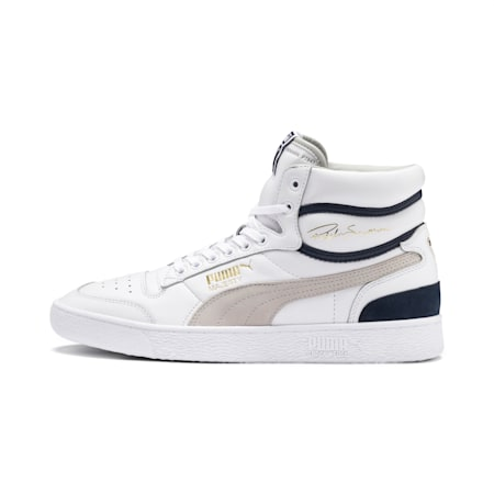 Ralph Sampson Mid OG Shoes, Puma Wht-Gray Violet-Peacoat, small-IND