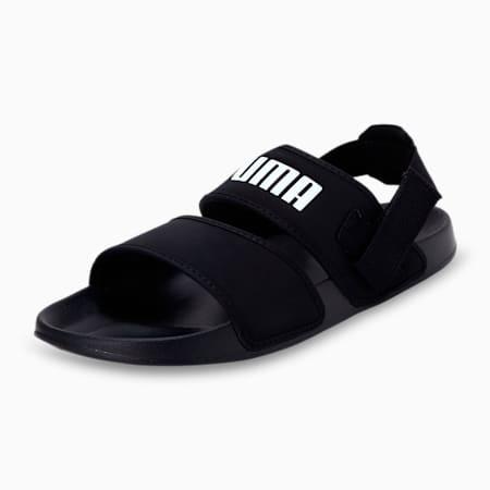 Leadcat YLM Lite Sandals, Puma Black-Puma White, small-IND