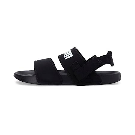 Leadcat YLM Lite Sandals, Puma Black-Puma White, small-SEA