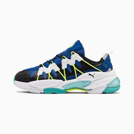 LQDCELL Omega Training Shoes, Puma Black-Galaxy Blue, small