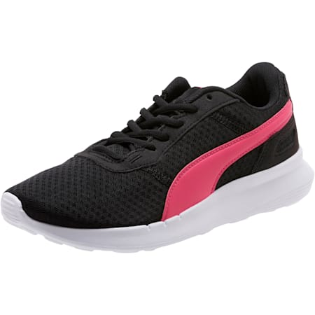 ST Activate Women's Sneakers, Puma Black-Fuchsia Purple, small