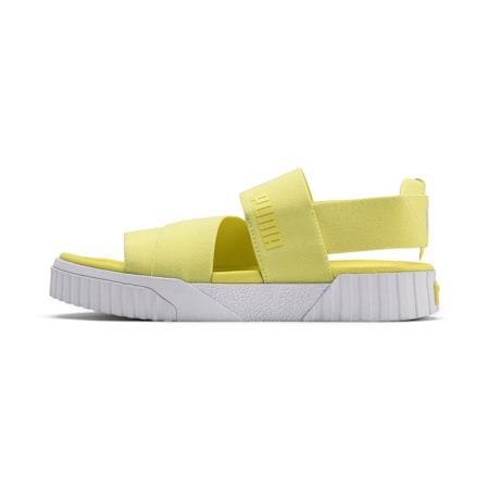 PUMA x SELENA GOMEZ Cali Women's Sandals, SOFT FLUO YELLOW, small